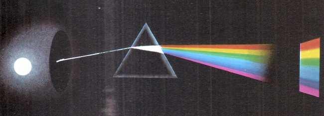 Espectro de luz blanca