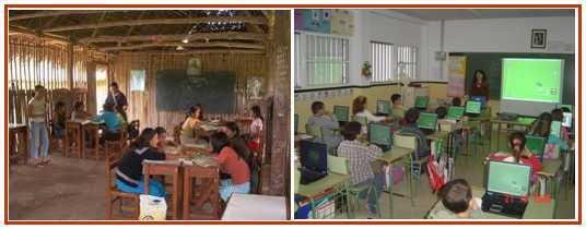 colegios con distintas clases sociales