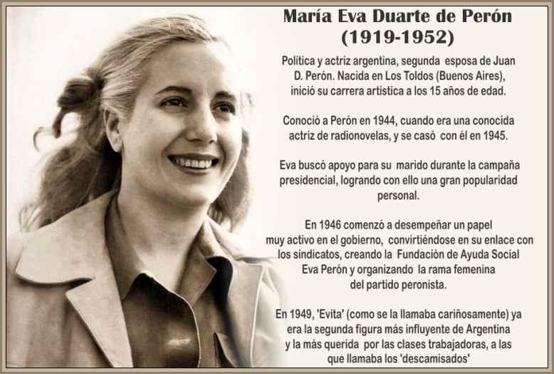 Políticas Sociales del Peronismo- La Fundacion de Evita Perón – BIOGRAFÍAS  e HISTORIA UNIVERSAL,ARGENTINA y de la CIENCIA