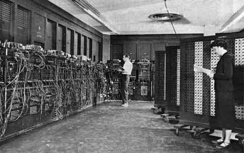 eniac primera computadora a valvulas