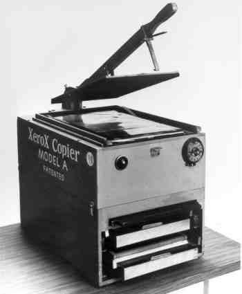 primera fotocopiadora