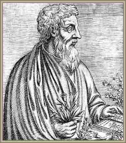 Historia de los Farmacos Pedanio Dioscórides