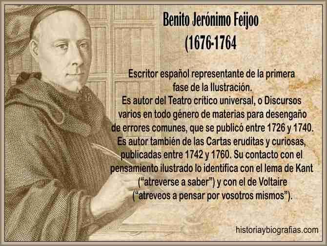 Biografia de Feijoo Benito Gerónimo