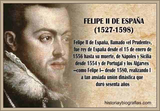 biografia felipe II de españa