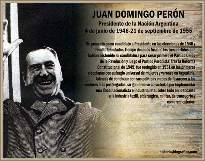 Gobierno de Juan Domingo Peron