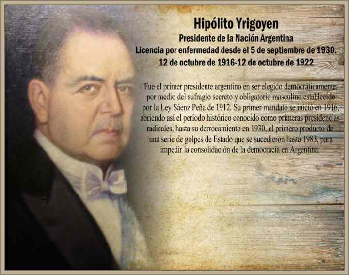Yrigoyen Hipolito Gobierno