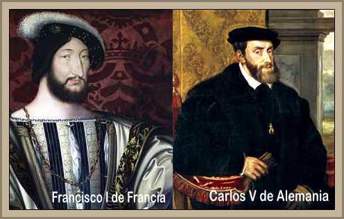 Francisco I de Francia y Carlos V de Alemania