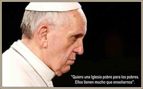 frases del papa francisco I sobre los pobres
