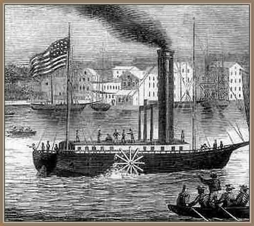 Biografia de Fulton Robert Inventor del Barco a Vapor