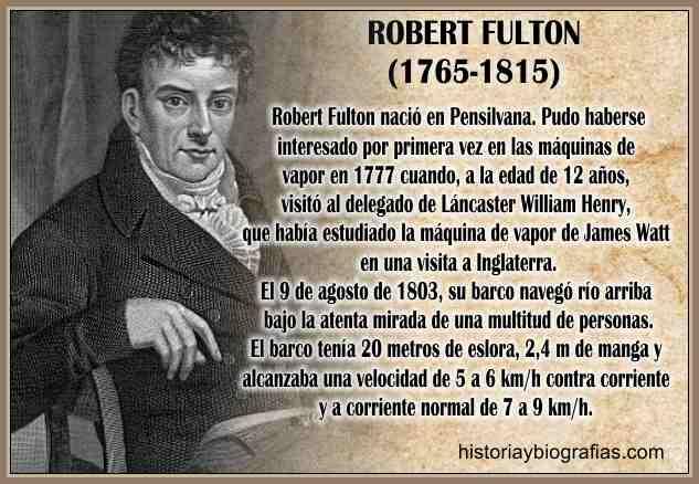 robert fulton biografia