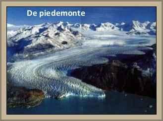 glaciar piedemonte