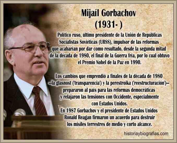 Gobierno de Gorbachov Perestroika y Glasnost La ...