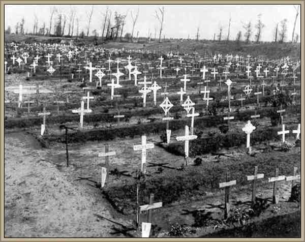 guerra mundial cementerio muertos