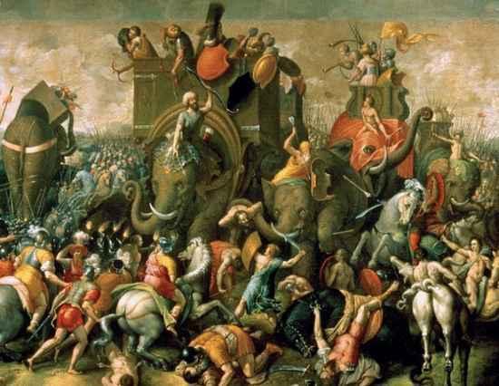 anibal cruza los alpes para atacar roma