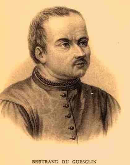 biografia de bertrand guesclin