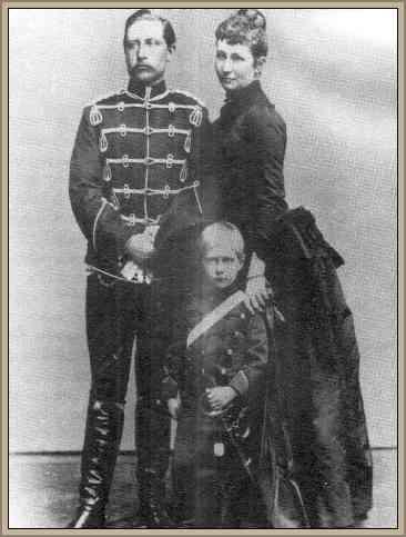 familia de guillermo ii de alemania