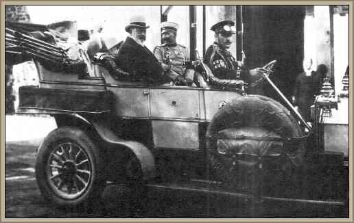 Jorge V de inglaterra y Guillermo II