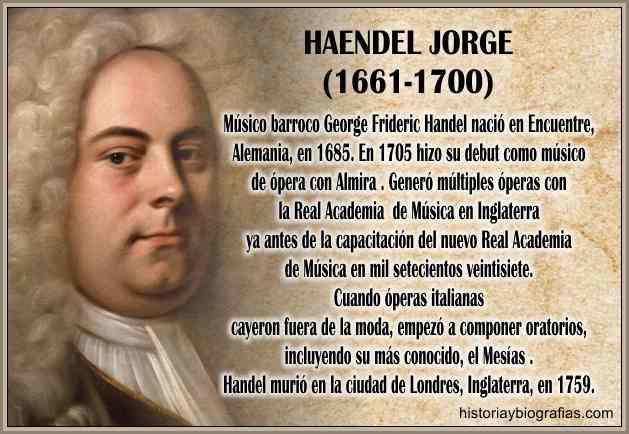 biografia de haendel george