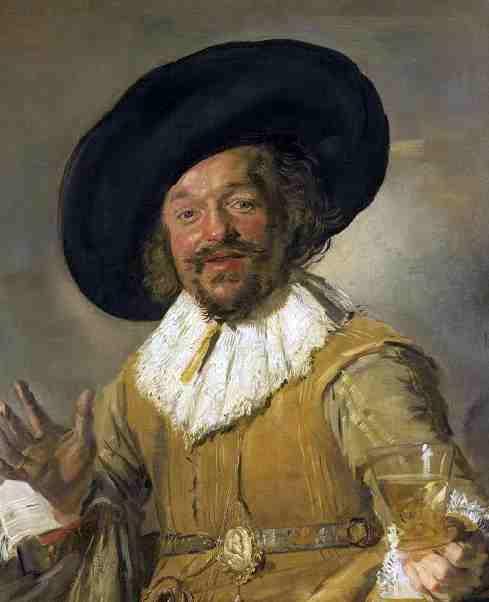 El Alegre Bebedor - Frans Hals