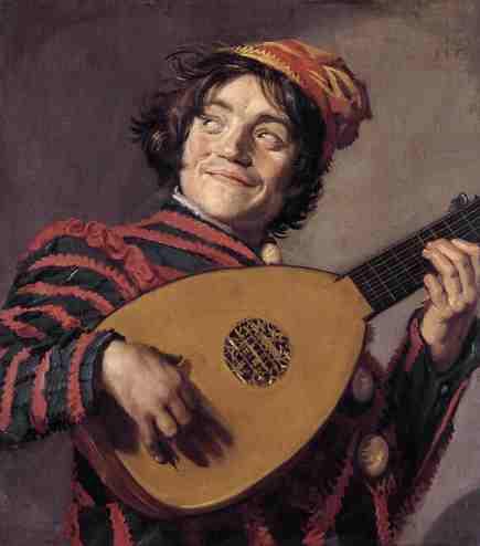 El Jugador del Laud - Frans Hals