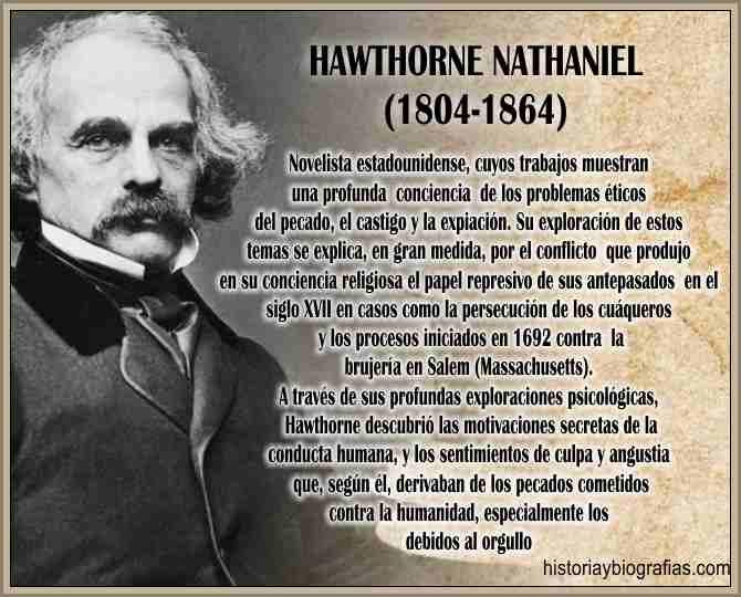 Biografia de Hawthorne Nathaniel