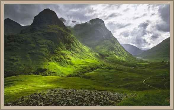 imagen de hihglands en escocia