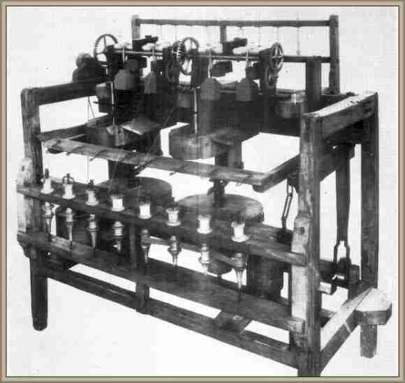 Inventor de la Hiladora Mecánica,Arkrwright