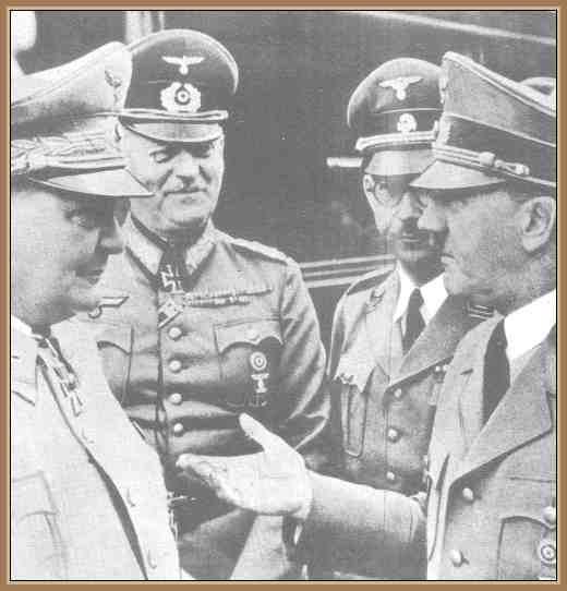 hitler y goering