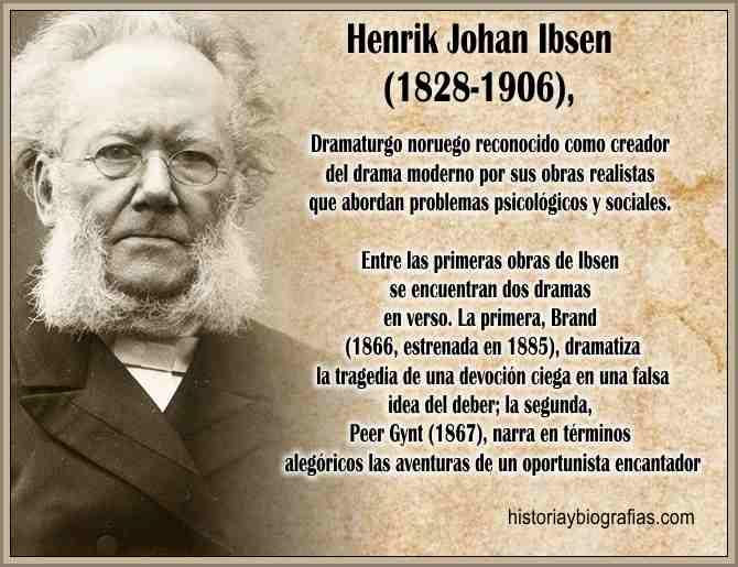 Biografia Ibsen Johan