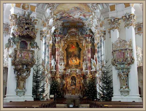 Iglesia Weiss Estilo Rococo