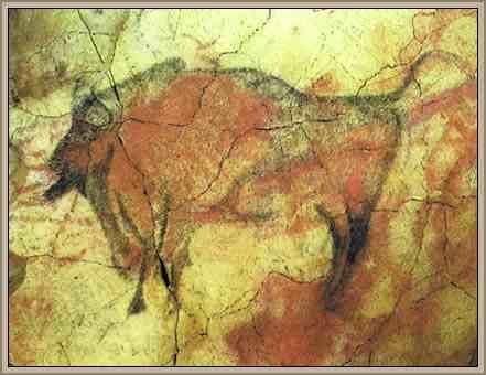 arte rupestre un toro