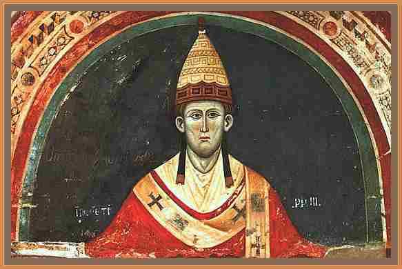 biografia de inocencio III Papa de la Iglesia