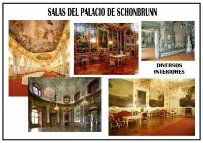 Interiores del Palacio   Schónbrunn