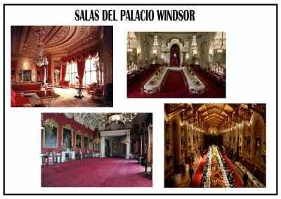 Interiores del Palacio- Castillo de Windsor