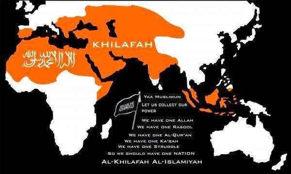 MApa de ISIS