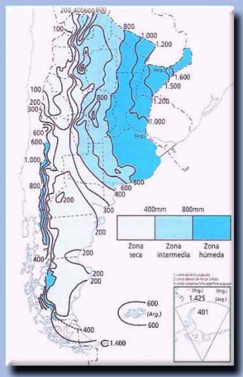 isohietas argentina