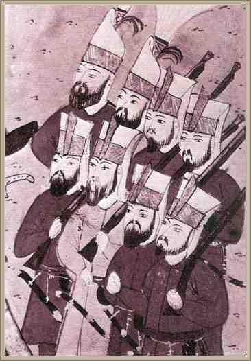 ejercito de jenizaros turcos