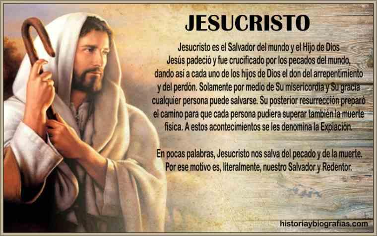 biografia de jesucristo