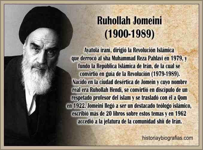 La Revolución Islámica Ayatolá Jomeini Derroca al Sha Palhevi