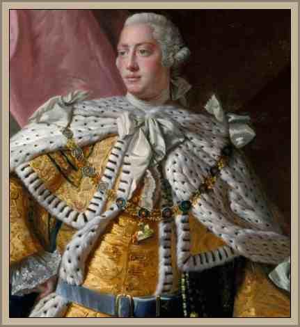Rey Jorge III de Inglaterra