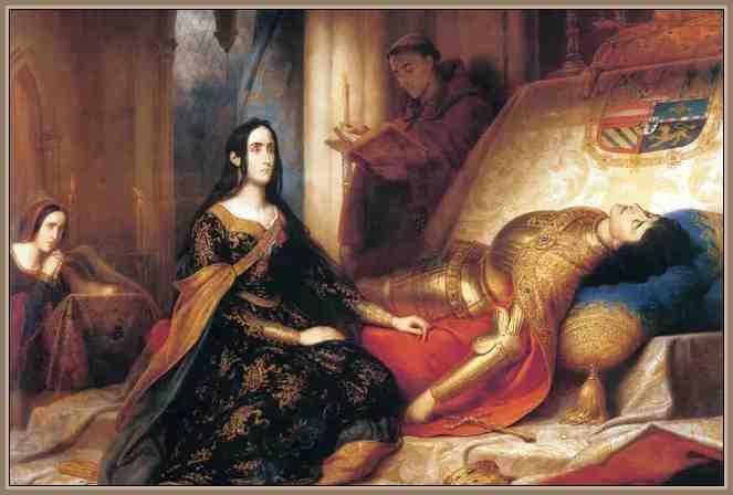 Juana La Loca y Felipe I