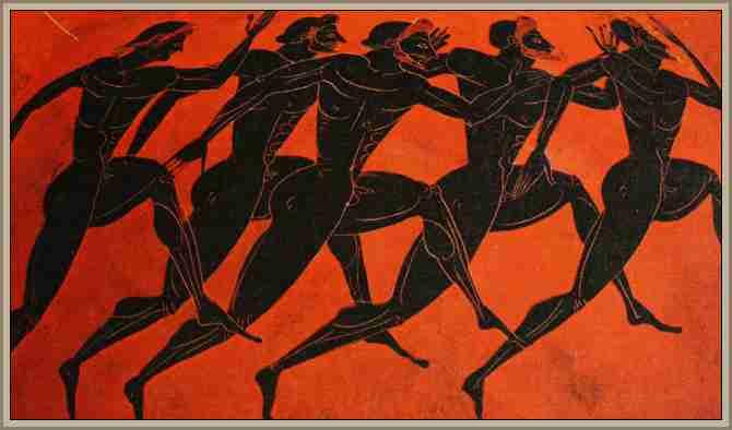 juegos en antigua grecia