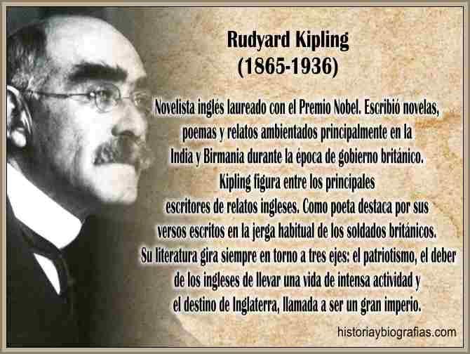 Biografia de Kipling Rudyard