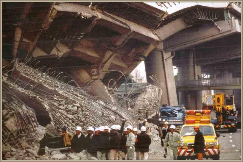 terremoto kobe en japon