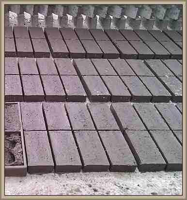 ladrillos secados al sol