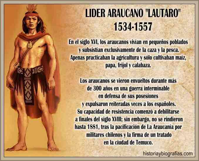 Araucano Lautaro Sublevacion Contra Españoles la Colonizacion en Chile