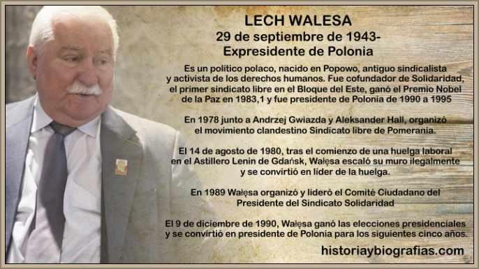 Biografia de Lech Walesa