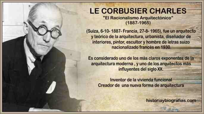le corbusier arquitecto francés