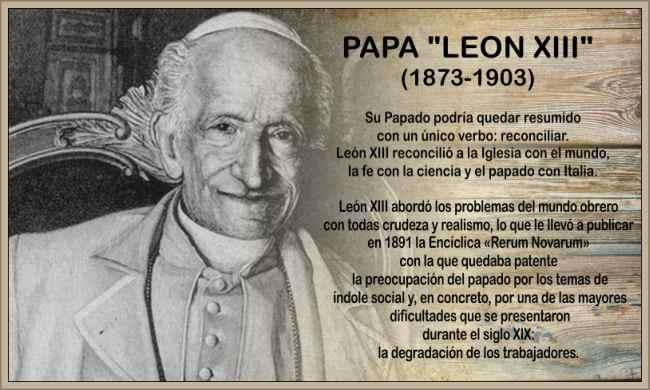 papa leon xiii papa de los obreros