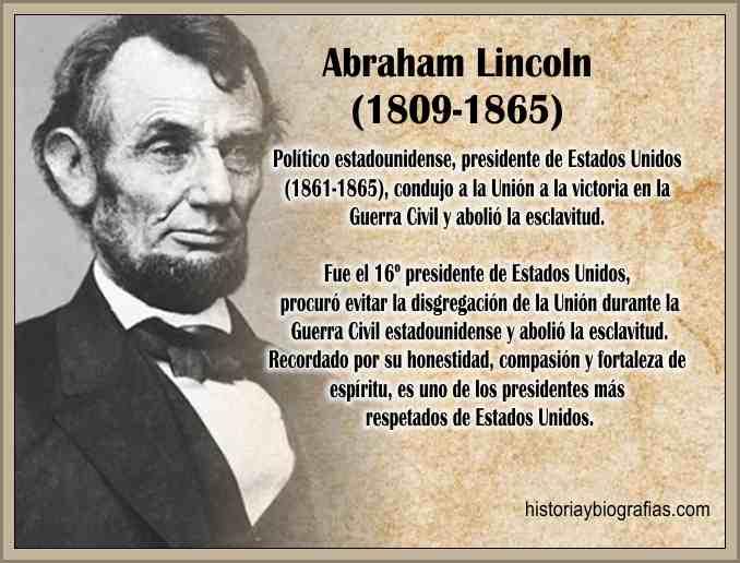 Biografia Abraham Lincoln Magnicidio-Vida y Obra Politica – BIOGRAFÍAS e  HISTORIA UNIVERSAL,ARGENTINA y de la CIENCIA